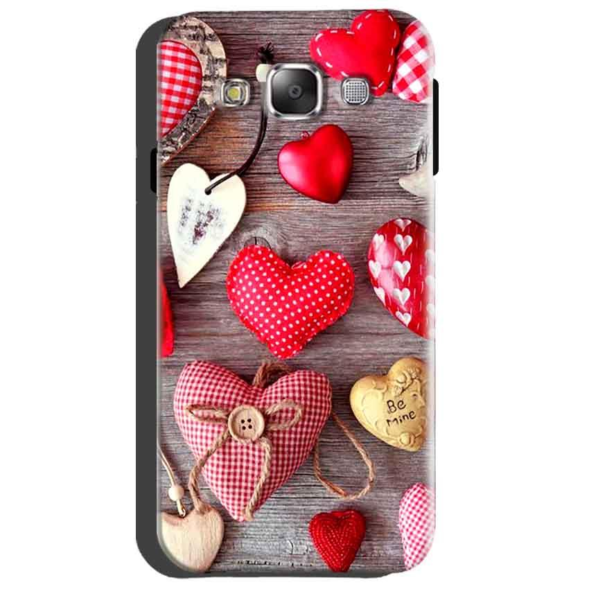 Samsung Galaxy Grand Quattro i8552 Mobile Covers Cases Hearts- Lowest Price - Paybydaddy.com
