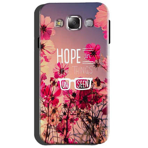 Samsung Galaxy Grand Quattro i8552 Mobile Covers Cases Hope in the Things Unseen- Lowest Price - Paybydaddy.com
