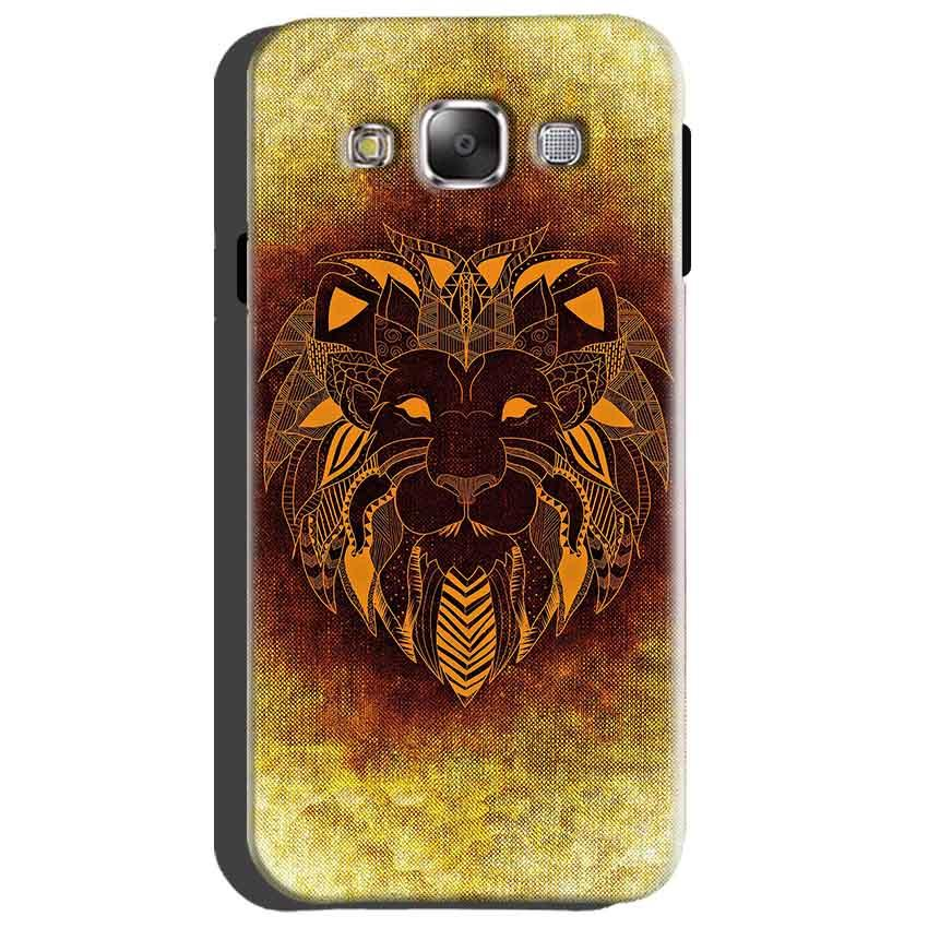 Samsung Galaxy Grand Quattro i8552 Mobile Covers Cases Lion face art - Lowest Price - Paybydaddy.com