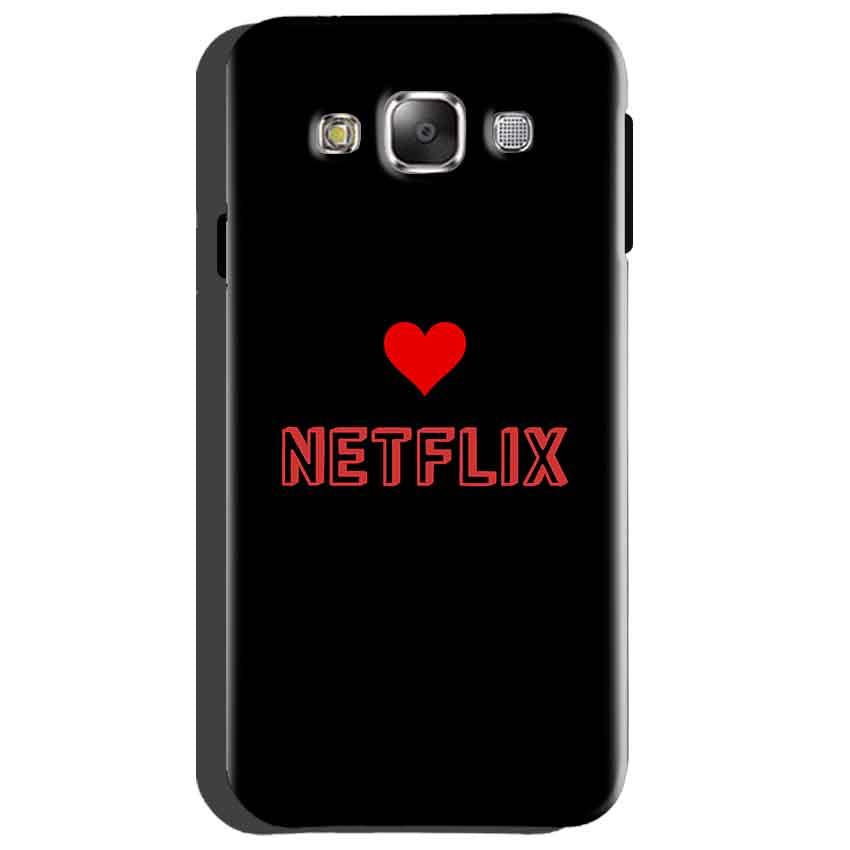 Samsung Galaxy Grand Quattro i8552 Mobile Covers Cases NETFLIX WITH HEART - Lowest Price - Paybydaddy.com