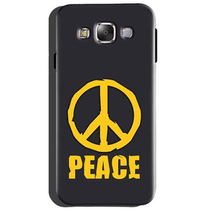 Samsung Galaxy Grand Quattro i8552 Mobile Covers Cases Peace Blue Yellow - Lowest Price - Paybydaddy.com