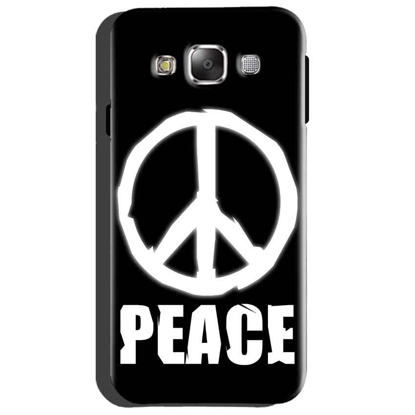 Samsung Galaxy Grand Quattro i8552 Mobile Covers Cases Peace Sign In White - Lowest Price - Paybydaddy.com