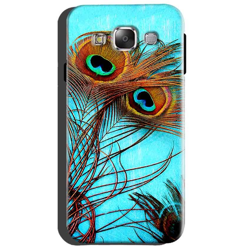 Samsung Galaxy Grand Quattro i8552 Mobile Covers Cases Peacock blue wings - Lowest Price - Paybydaddy.com