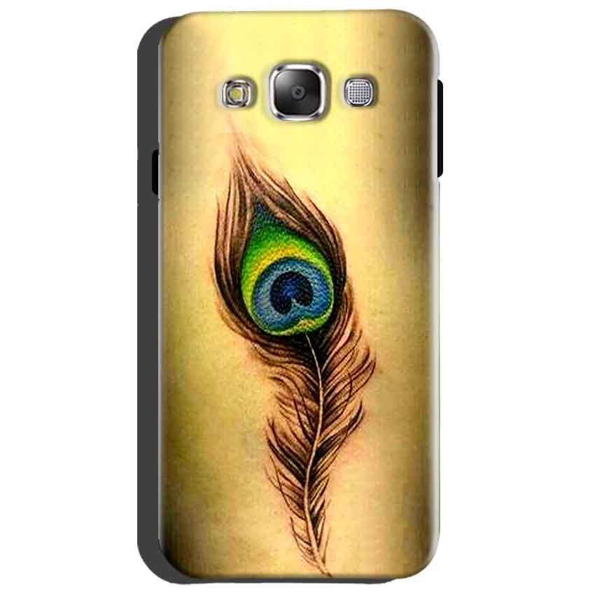 Samsung Galaxy Grand Quattro i8552 Mobile Covers Cases Peacock coloured art - Lowest Price - Paybydaddy.com