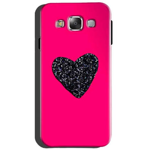 Samsung Galaxy Grand Quattro i8552 Mobile Covers Cases Pink Glitter Heart - Lowest Price - Paybydaddy.com
