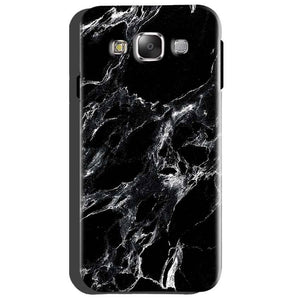 Samsung Galaxy Grand Quattro i8552 Mobile Covers Cases Pure Black Marble Texture - Lowest Price - Paybydaddy.com