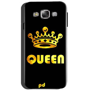 Samsung Galaxy Grand Quattro i8552 Mobile Covers Cases Queen With Crown in gold - Lowest Price - Paybydaddy.com