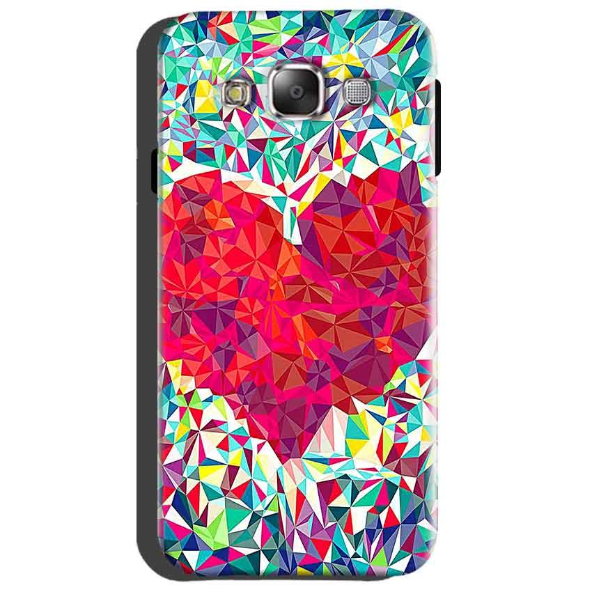 Samsung Galaxy Grand Quattro i8552 Mobile Covers Cases heart Prisma design - Lowest Price - Paybydaddy.com