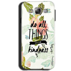 Samsung Galaxy J1 2015 Mobile Covers Cases Do all things with kindness - Lowest Price - Paybydaddy.com
