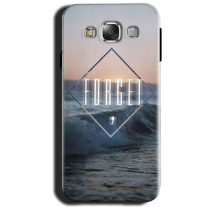 Samsung Galaxy J1 2015 Mobile Covers Cases Forget Quote Something Different - Lowest Price - Paybydaddy.com