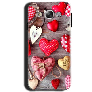Samsung Galaxy J1 2015 Mobile Covers Cases Hearts- Lowest Price - Paybydaddy.com