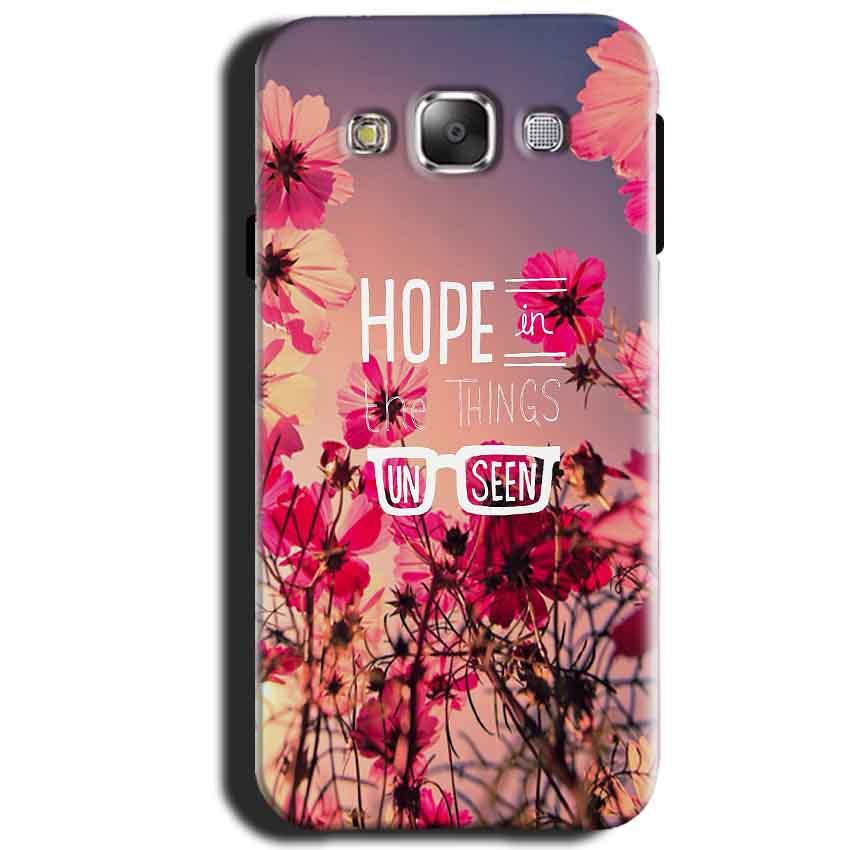 Samsung Galaxy J1 2015 Mobile Covers Cases Hope in the Things Unseen- Lowest Price - Paybydaddy.com