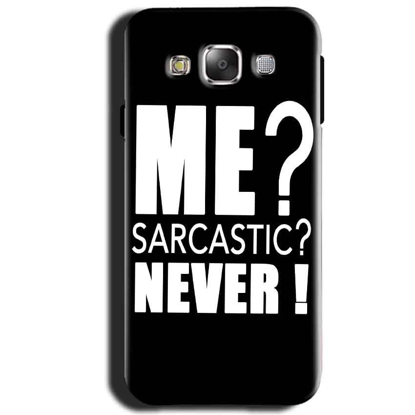 Samsung Galaxy J1 2015 Mobile Covers Cases Me sarcastic - Lowest Price - Paybydaddy.com