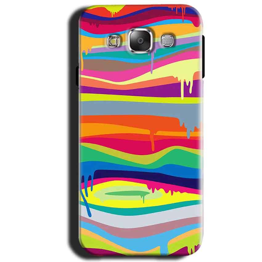 Samsung Galaxy J1 2015 Mobile Covers Cases Melted colours - Lowest Price - Paybydaddy.com