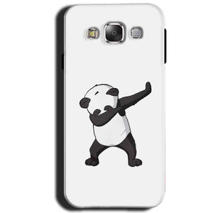 Samsung Galaxy J1 2015 Mobile Covers Cases Panda Dab - Lowest Price - Paybydaddy.com