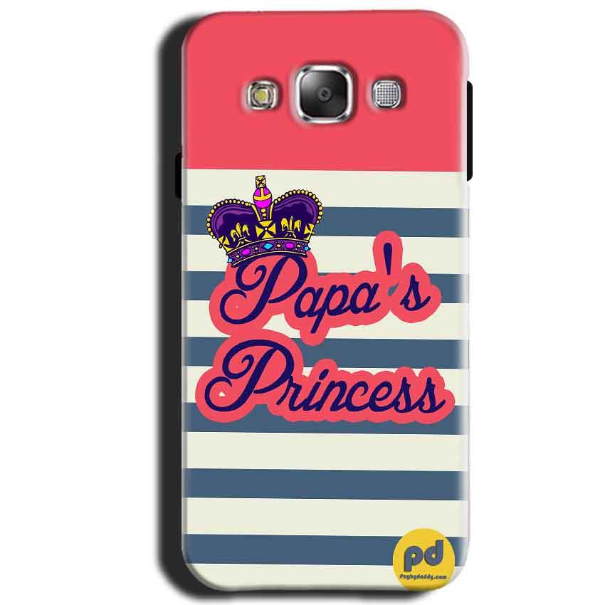 Samsung Galaxy J1 2015 Mobile Covers Cases Papas Princess - Lowest Price - Paybydaddy.com