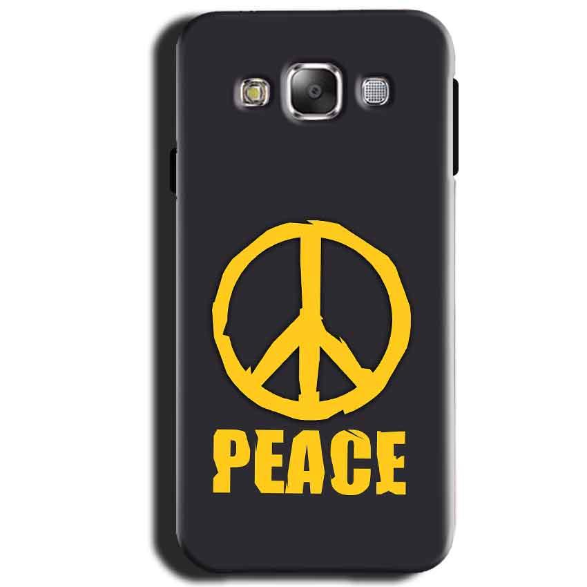 Samsung Galaxy J1 2015 Mobile Covers Cases Peace Blue Yellow - Lowest Price - Paybydaddy.com