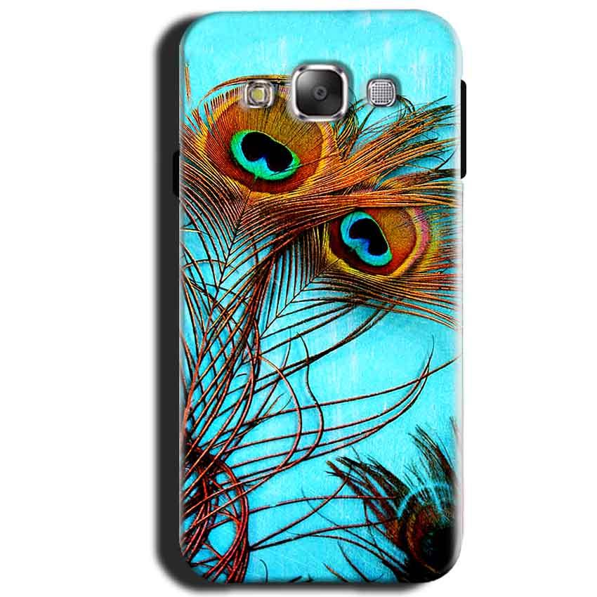 Samsung Galaxy J1 2015 Mobile Covers Cases Peacock blue wings - Lowest Price - Paybydaddy.com