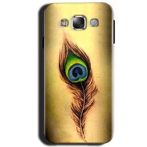 Samsung Galaxy J1 2015 Mobile Covers Cases Peacock coloured art - Lowest Price - Paybydaddy.com