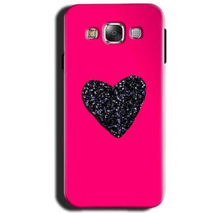 Samsung Galaxy J1 2015 Mobile Covers Cases Pink Glitter Heart - Lowest Price - Paybydaddy.com