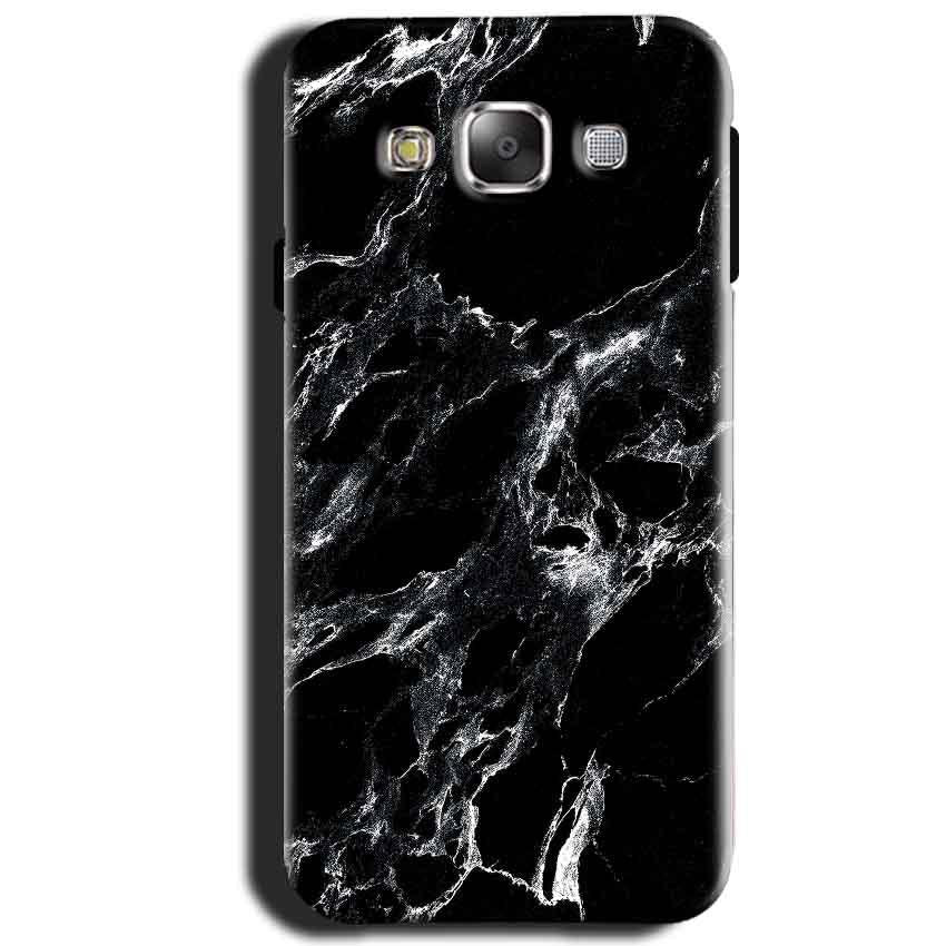 Samsung Galaxy J1 2015 Mobile Covers Cases Pure Black Marble Texture - Lowest Price - Paybydaddy.com