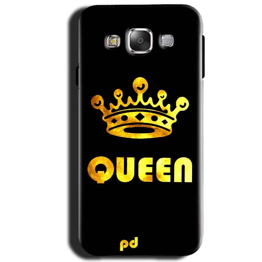 Samsung Galaxy J1 2015 Mobile Covers Cases Queen With Crown in gold - Lowest Price - Paybydaddy.com