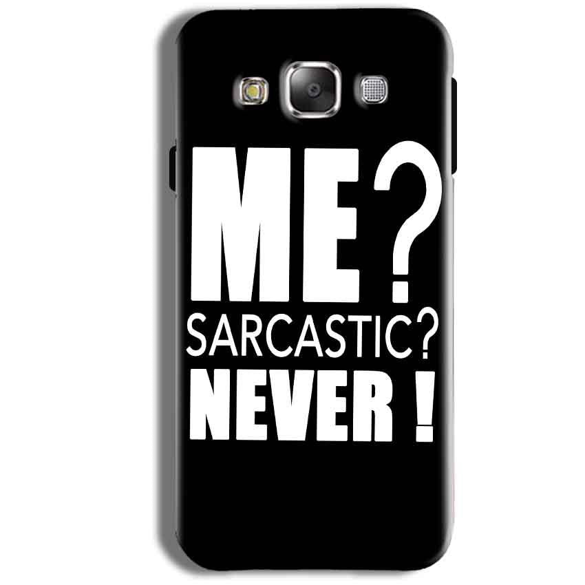 Samsung Galaxy J1 4G Mobile Covers Cases Me sarcastic - Lowest Price - Paybydaddy.com