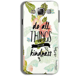 Samsung Galaxy J1 Ace Mobile Covers Cases Do all things with kindness - Lowest Price - Paybydaddy.com