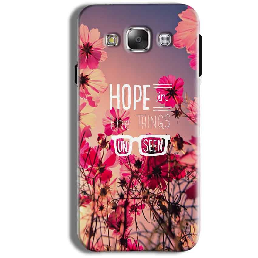 Samsung Galaxy J1 Ace Mobile Covers Cases Hope in the Things Unseen- Lowest Price - Paybydaddy.com