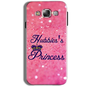 Samsung Galaxy J1 Ace Mobile Covers Cases Hubbies Princess - Lowest Price - Paybydaddy.com