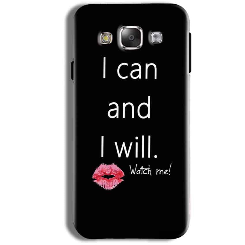 Samsung Galaxy J1 Ace Mobile Covers Cases i can and i will Lips - Lowest Price - Paybydaddy.com