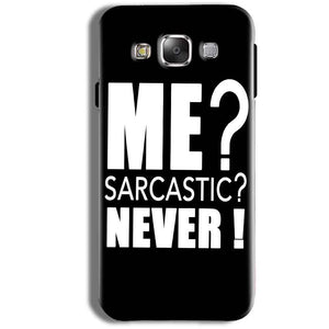 Samsung Galaxy J1 Ace Mobile Covers Cases Me sarcastic - Lowest Price - Paybydaddy.com