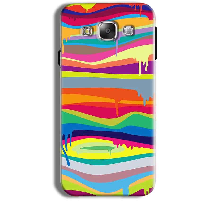 Samsung Galaxy J1 Ace Mobile Covers Cases Melted colours - Lowest Price - Paybydaddy.com