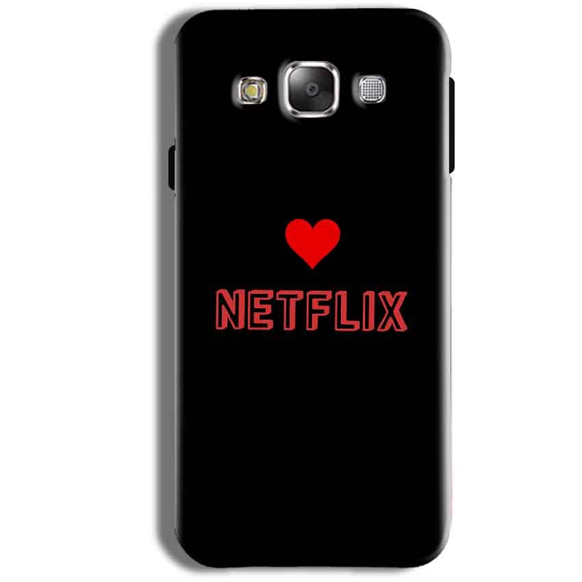 Samsung Galaxy J1 Ace Mobile Covers Cases NETFLIX WITH HEART - Lowest Price - Paybydaddy.com