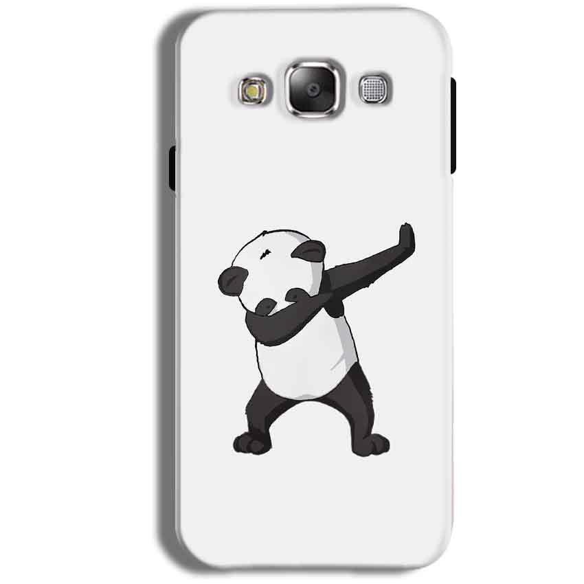 Samsung Galaxy J1 Ace Mobile Covers Cases Panda Dab - Lowest Price - Paybydaddy.com