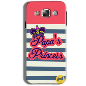 Samsung Galaxy J1 Ace Mobile Covers Cases Papas Princess - Lowest Price - Paybydaddy.com