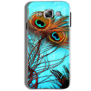Samsung Galaxy J1 Ace Mobile Covers Cases Peacock blue wings - Lowest Price - Paybydaddy.com