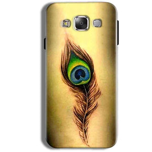 Samsung Galaxy J1 Ace Mobile Covers Cases Peacock coloured art - Lowest Price - Paybydaddy.com