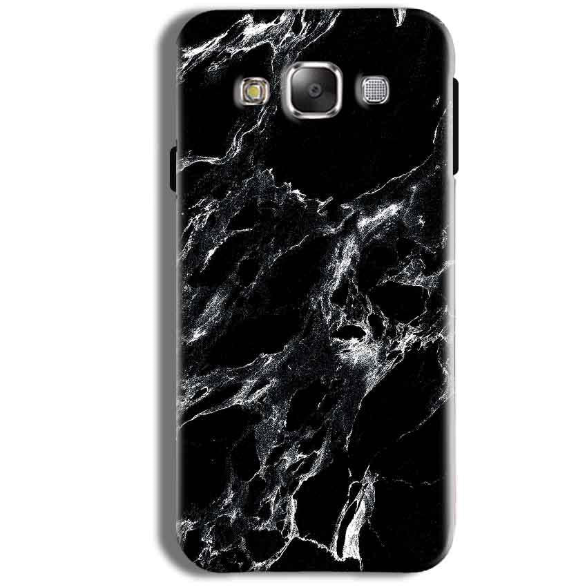 Samsung Galaxy J1 Ace Mobile Covers Cases Pure Black Marble Texture - Lowest Price - Paybydaddy.com