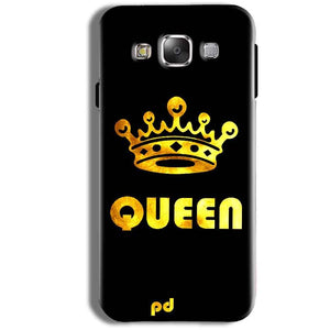 Samsung Galaxy J1 Ace Mobile Covers Cases Queen With Crown in gold - Lowest Price - Paybydaddy.com