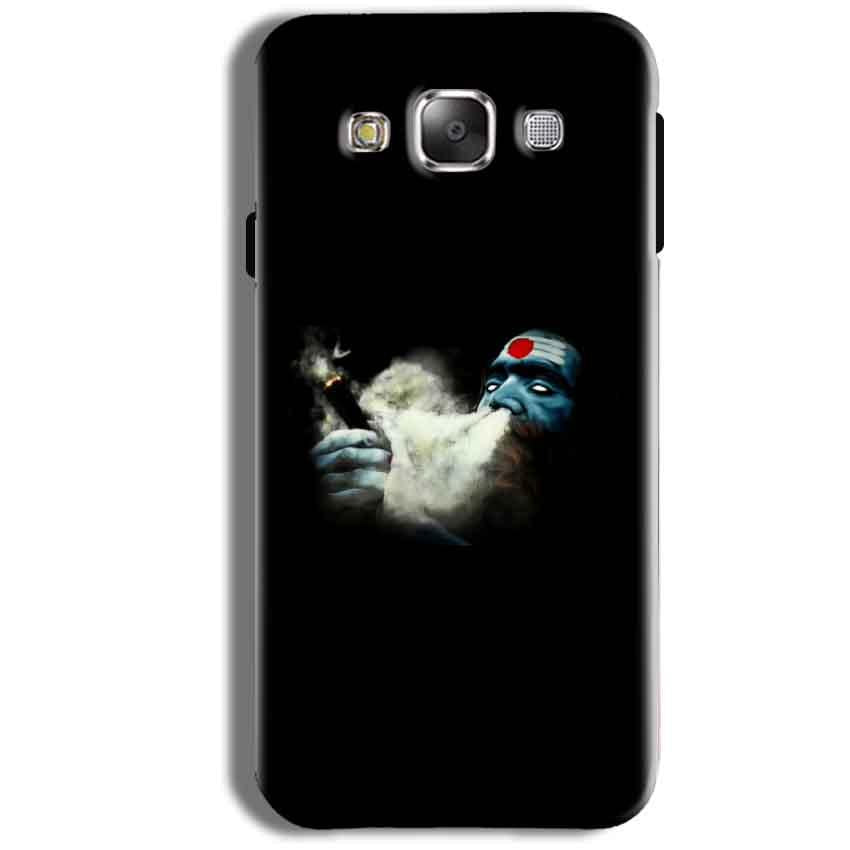 Samsung Galaxy J1 Ace Mobile Covers Cases Shiva Aghori Smoking - Lowest Price - Paybydaddy.com