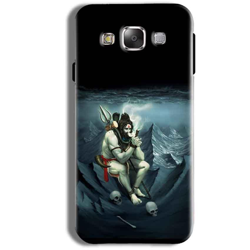 Samsung Galaxy J1 Ace Mobile Covers Cases Shiva Smoking - Lowest Price - Paybydaddy.com