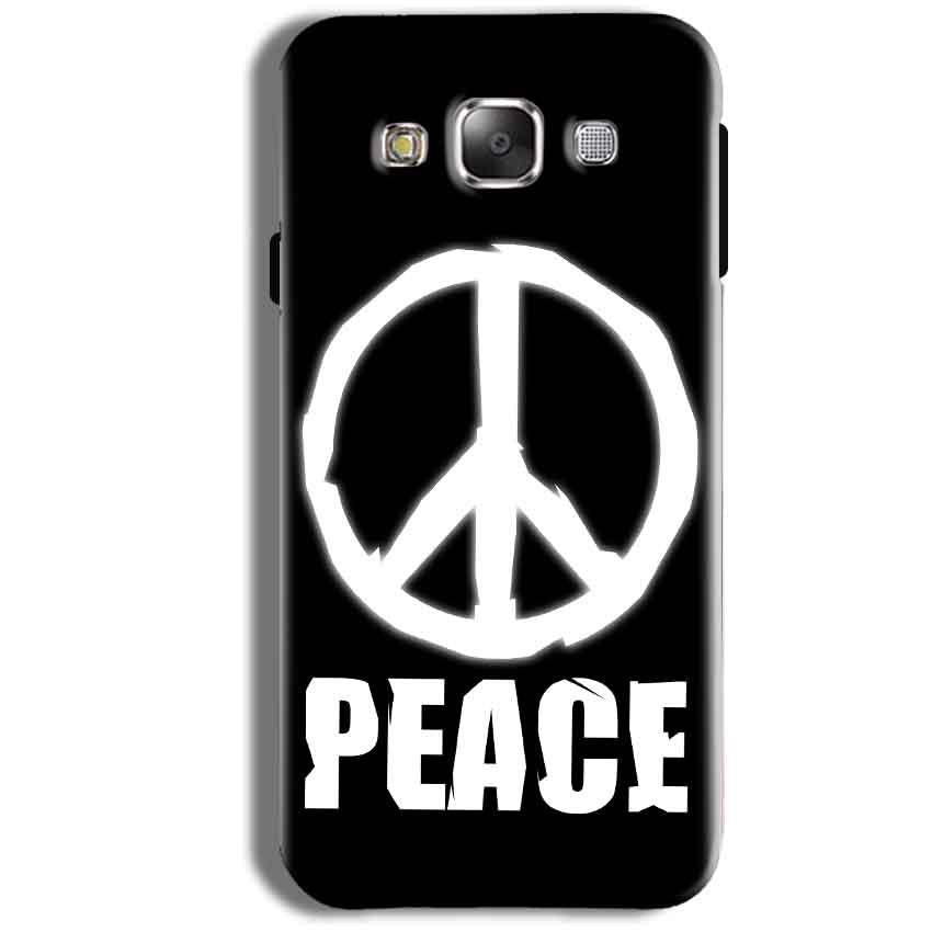 Samsung Galaxy J2 2017 Mobile Covers Cases Peace Sign In White - Lowest Price - Paybydaddy.com
