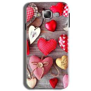 Samsung Galaxy J2 Ace Mobile Covers Cases Hearts- Lowest Price - Paybydaddy.com