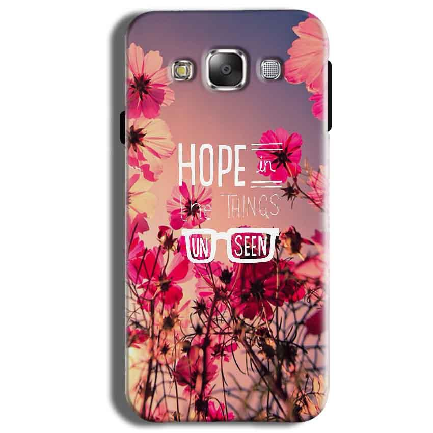 Samsung Galaxy J2 Ace Mobile Covers Cases Hope in the Things Unseen- Lowest Price - Paybydaddy.com