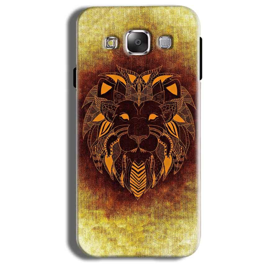 Samsung Galaxy J2 Ace Mobile Covers Cases Lion face art - Lowest Price - Paybydaddy.com