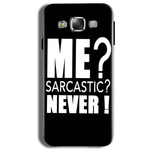 Samsung Galaxy J2 Ace Mobile Covers Cases Me sarcastic - Lowest Price - Paybydaddy.com