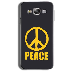 Samsung Galaxy J2 Ace Mobile Covers Cases Peace Blue Yellow - Lowest Price - Paybydaddy.com
