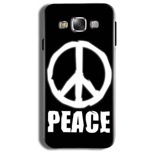 Samsung Galaxy J2 Ace Mobile Covers Cases Peace Sign In White - Lowest Price - Paybydaddy.com