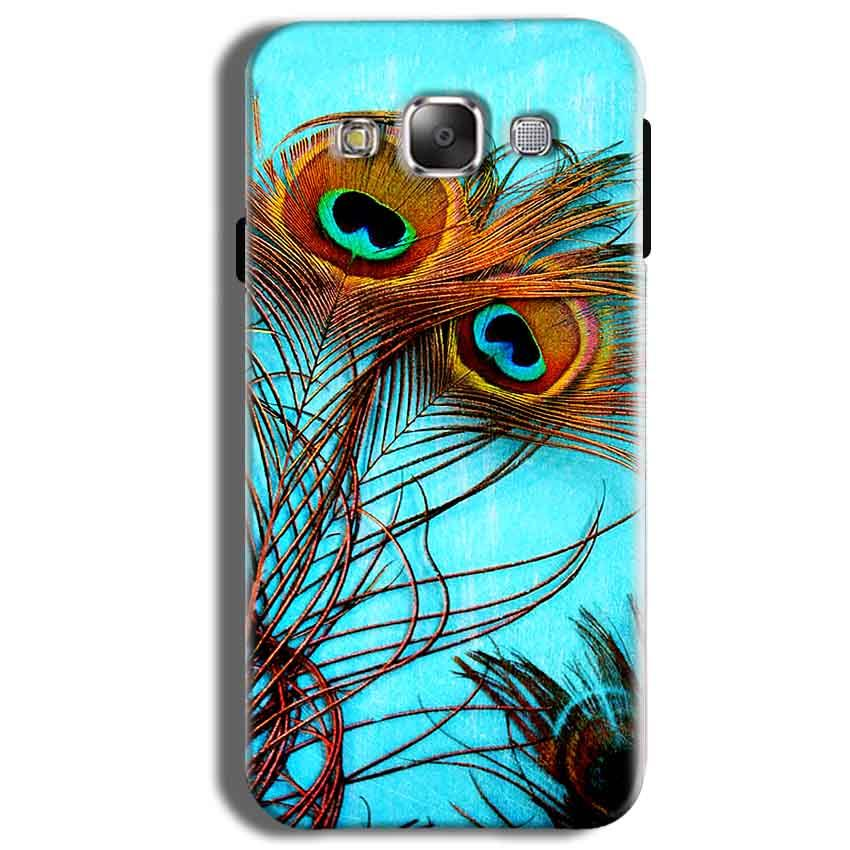 Samsung Galaxy J2 Ace Mobile Covers Cases Peacock blue wings - Lowest Price - Paybydaddy.com